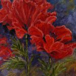 Poppies Oil Painting Haseldencollection