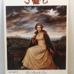 Postcard Painting Her Majesty Queen Joseph Wallace King