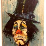 Print Famous Clown Painting Spanish Artist