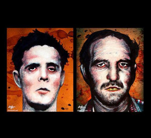 Prints Henry Lee Lucas Ottis Toole Dark Art