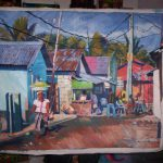 Project Esperanza Art Shop Batey Dominican Republic Painting Wendy
