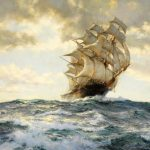 Proud Ship Artwork Montague Dawson Oil Painting Art Prints Canvas