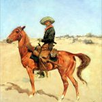 Puncher Frederic Remington Giclee Canvas Print Repro