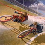 Racing Caf Motorcycle Art