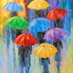 Rain Paintings Olha Darchuk