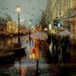 Rainy Russian Street Photography Looks Like Oil Paintings Bored