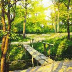Realistic Landscape Paintings Dmitry Levin