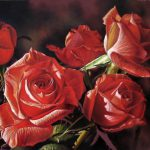 Red Roses Oil Painting Stephen Shooter