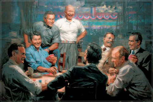 Republican Presidents Playing Poker Blog Chooses