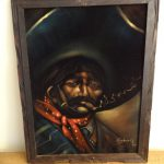 Reserved Jim Vintage Velvet Painting Mexican
