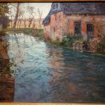River Normandy Frits Thaulow Oil Canvas Huntington Museum