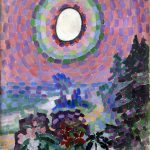 Robert Delaunay Paysage Disque Solaire Oil Canvas