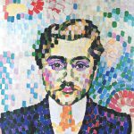 Robert Delaunay Portrait Metzinger Oil Canvas
