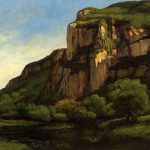 Rocks Mouthier Gustave Courbet