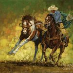 Rodeo Pickup Painting Don
