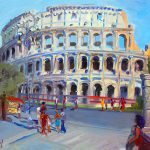 Rome Colosseum Painting Ylli