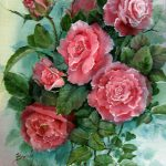 Roses Flowers Still Life Paintings Rose