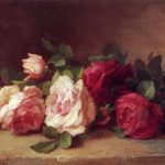 Roses Oil Painting Anna Eliza