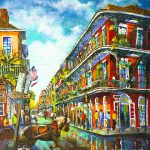 Royal Carriage New Orleans French Quarter Painting Dianne