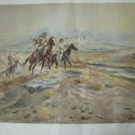 Russell Western Artwork Prints Vintage
