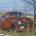 Rusty Old Cars Artwork