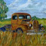 Rusty Old Truck Painting William