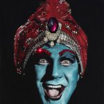 Saatchi Art Jambi Pee Wee Playhouse Black Velvet Painting Diane