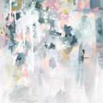 Sage Days Abstract Art Print Kate Fisher