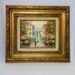Sale Vintage Original Oil Painting