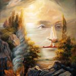 Salvador Dali Optical Illusion Paintings Names Imgkid