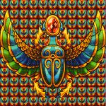 Scarab Blotter Art Psychedelic Perforated Lsd Acid Kesey Leary Hofmann