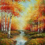 Scenery Famous Painting Colouring Drawing