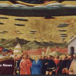 Scripture Supporting Aliens Ufos Religious Painting Christian Old