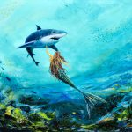 Sea Life Painting Gina