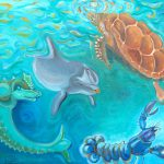 Sea Life Painting Thierry