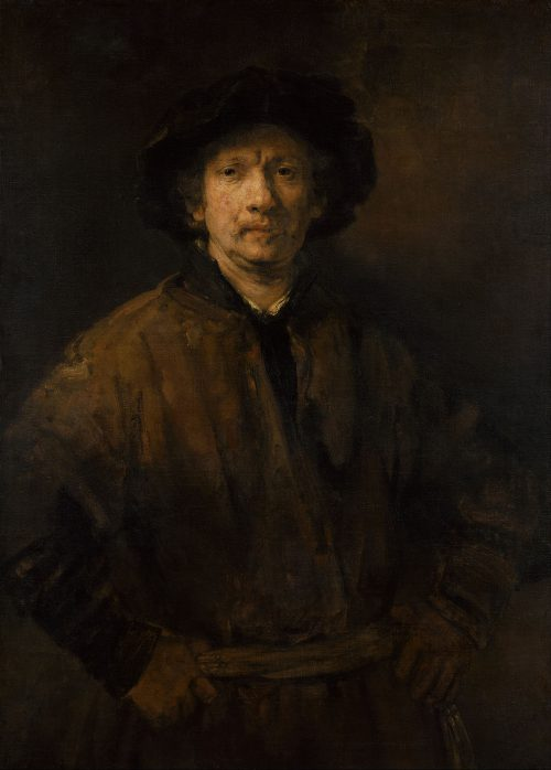 Self Portrait Rembrandt Vienna