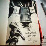 Shawn Coss Creates Creepy Drawings Mental Illnesses Inktober