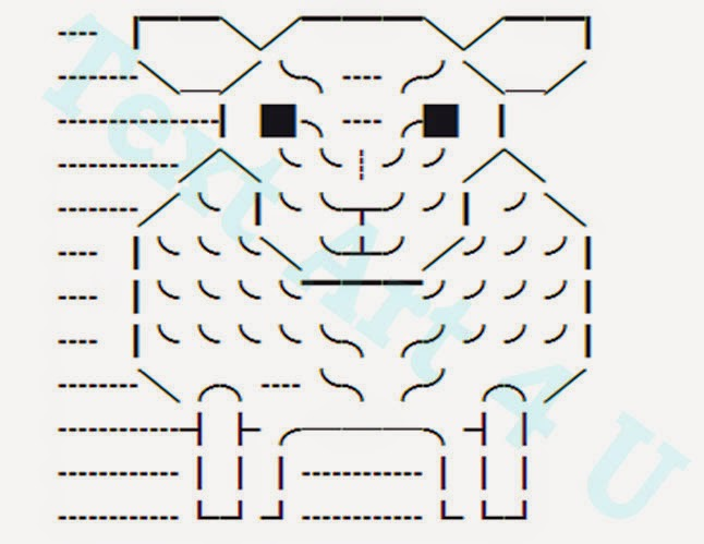 Sheep Unicode Text Art Copy Paste Code Cool