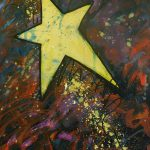 Shooting Star Painting Carol Suzanne