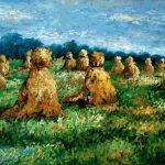 Shopping Claude Monet Haysheaves Painting Paintings