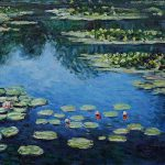 Shopping Claude Monet Water Lilies Iii Painting Paintings