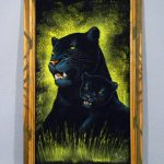Signed Black Panther Velvet