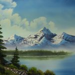 Simple Landscape Paintings Mountains Fancy Easy
