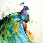 Simply Creative Watercolor Animals Paintings Dean
