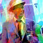 Sinatra Swings Painting David Lloyd
