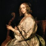 Sir Van Dyck Anthony Flemish Painter Fine Art Painting