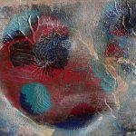 Small Abstract Acrylic Painting Private