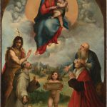 Small Madonna Foligno Previously Unknown Painting Raphael Discovered Art