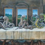 Snakes Invade Great Moments Art History Bored