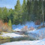 Snow Day Tips Plein Air Painting Kathleen Dunphy